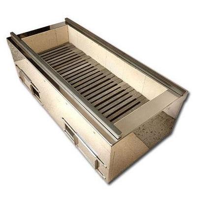 炭用耐火レンガ式焼物器 TCFシリーズ