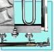 マルエフ たい焼き機 1連式 (6匹)