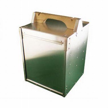 アルミ製出前箱縦3個 XOC-02