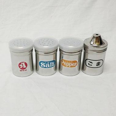 ステンレス調味缶 各種