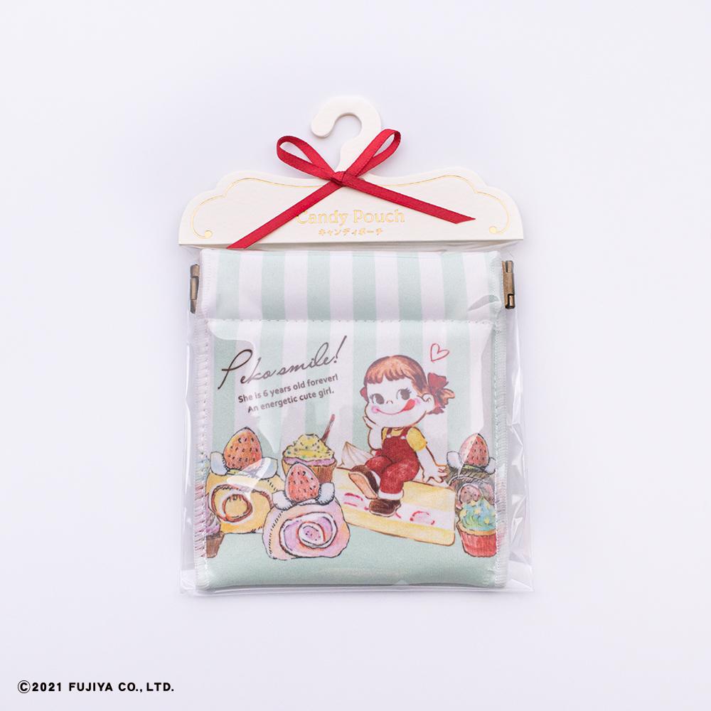 【再入荷】キャンディポーチ(お菓子が好き)グリーン