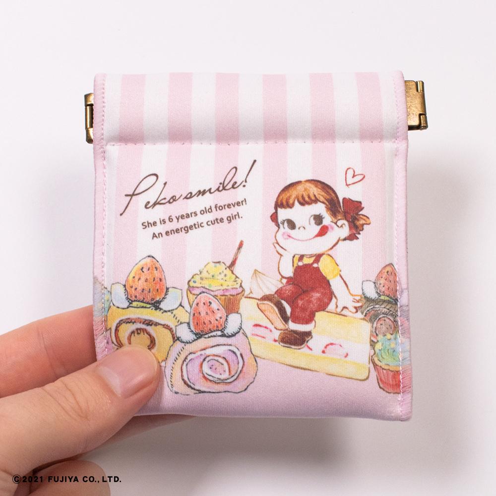 キャンディポーチ(お菓子が好き)ピンク