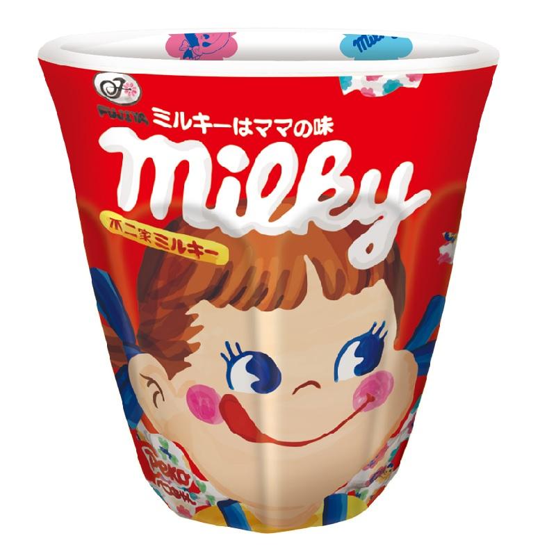 【再入荷】メラミンカップ(ミルキー)