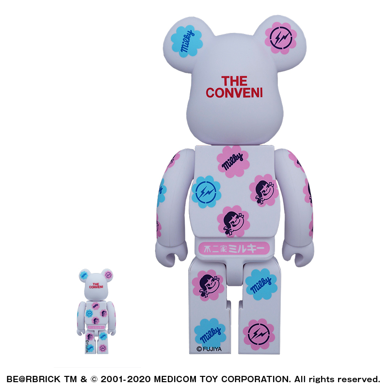 MILKY THE CONVENI COLOR MILKY BE@RBRICK 100%&400%