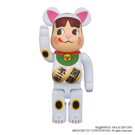 【完売】BE@RBRICK招き猫ペコちゃん400%