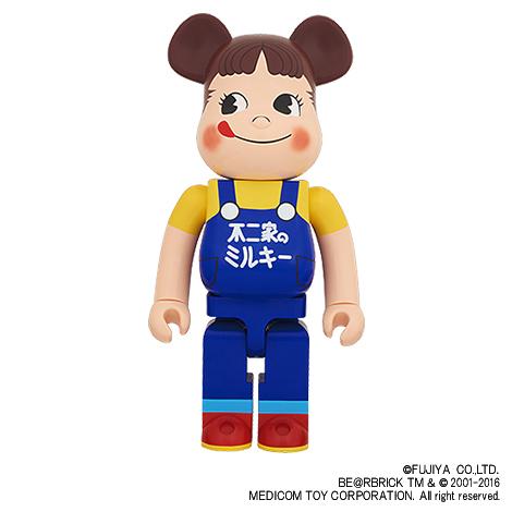 【完売】BE@RBRICK ペコちゃん(ミルキー65周年記念デザイン)1000%