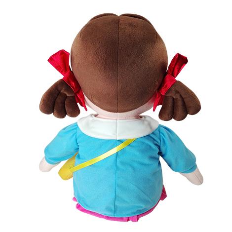 【楽しくソーシャルディスタンス!!】   園児服を着たペコちゃんぬいぐるみ(大)