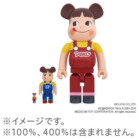 【完売】 BE@RBRICKペコちゃん1000%