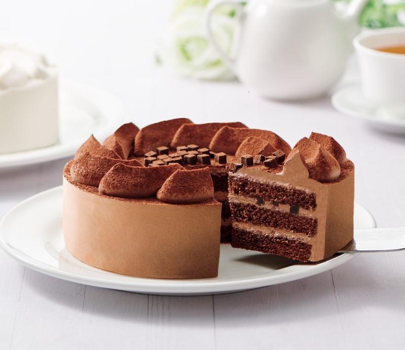 【送料無料】糖質オフ チョコ生ケーキ