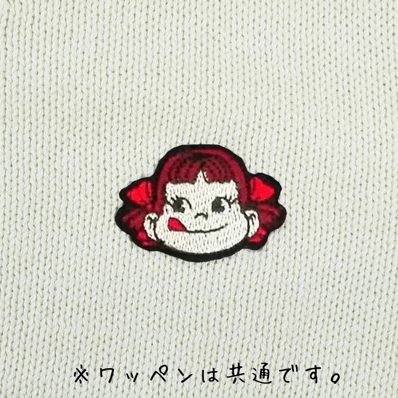 ペコちゃんニットカーディガン(ホワイトL)