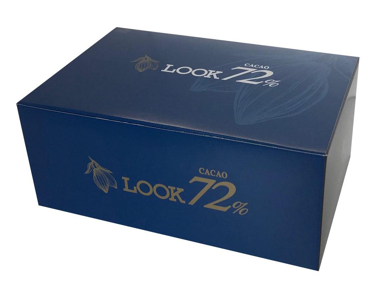 ルックカカオ72%大容量ボックス