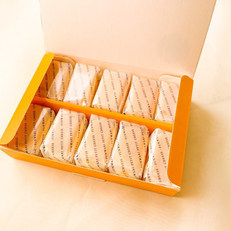 ふんわりプチチーズ10個入