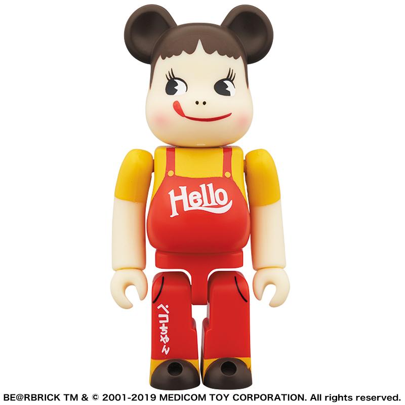 【完売】BE@RBRICK ペコちゃん&ポコちゃん ビンテージ HELLO版 2体セット