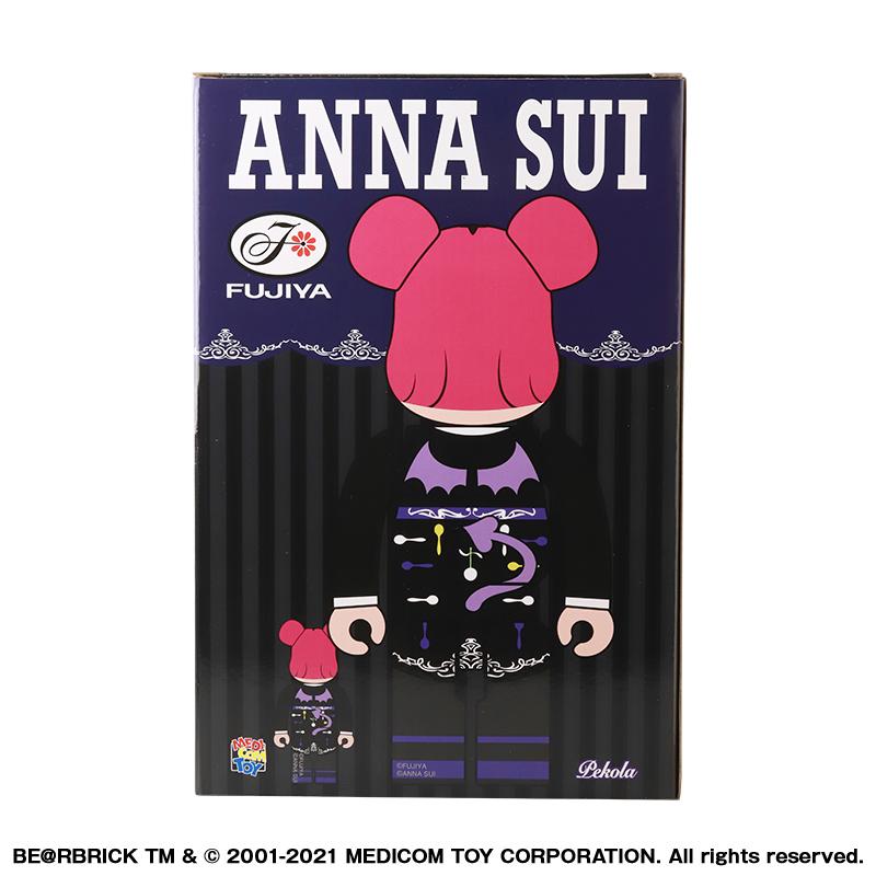 【抽選販売終了】BE@RBRICK ANNA SUI × ペコラ 100% & 400%