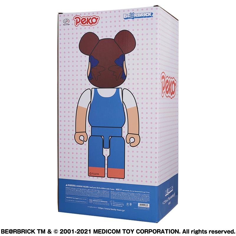 【抽選販売終了】BE@RBRICK ペコちゃん The overalls girl 1000%
