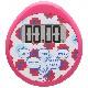 時計付防水タイマー(ピンク)