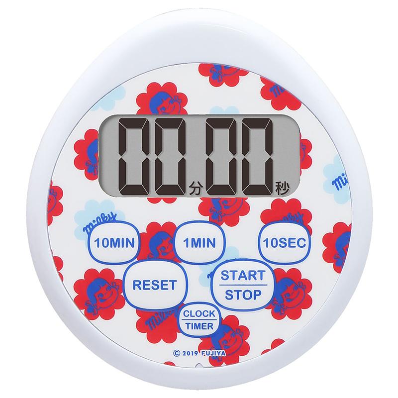 時計付防水タイマー(ブルー)
