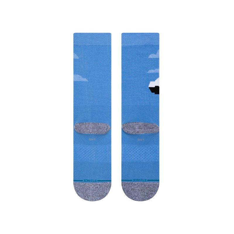 STANCE SOCKS スタンス ハイソックス ピクサー ディズニー カールじいさんの空飛ぶ家 レディース キッズ 子供 ブルー 青 コラボ
