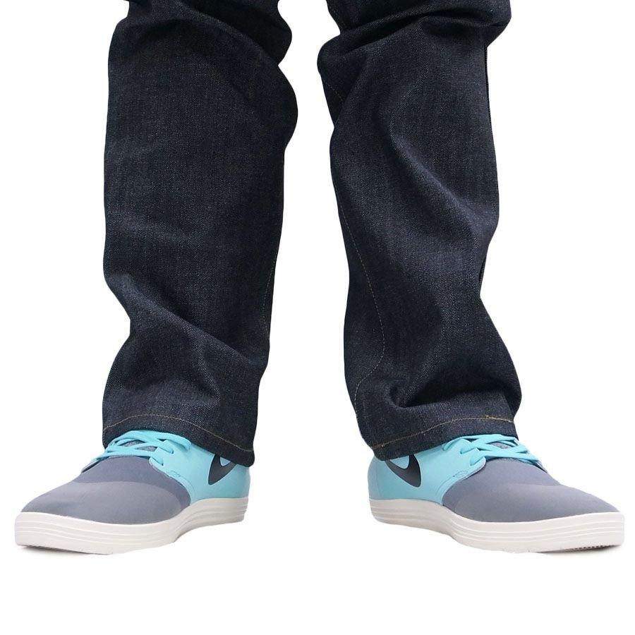 NIKE スニーカー ナイキ スケート シューズ SKATEBOARDING LUNAR ONESHOT COOL GREY グレー ブルー 青