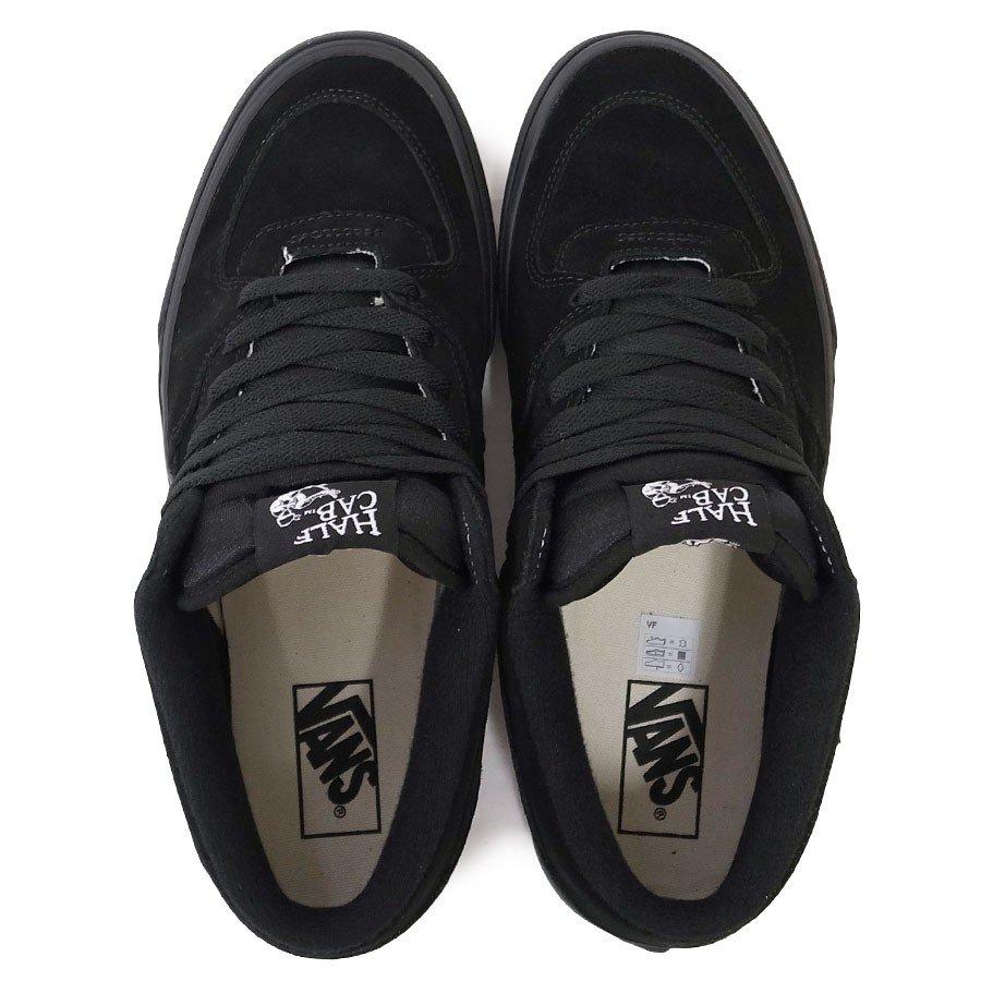 VANS スニーカー バンズ ヴァンズ シューズ ハーフキャブ HALF CAB BLACK BLACK ブラック 黒