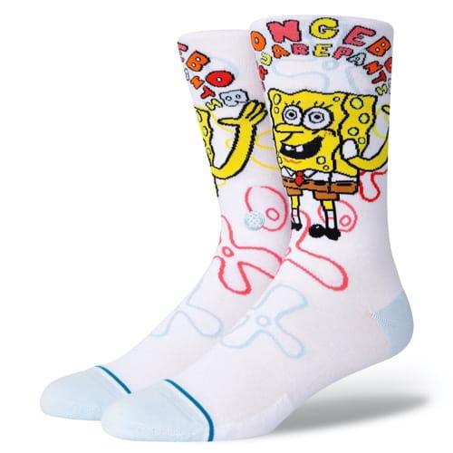 STANCE SOCKS スタンス ハイソックス 靴下 IMAGINATION BOB スポンジボブ SpongeBob コラボ