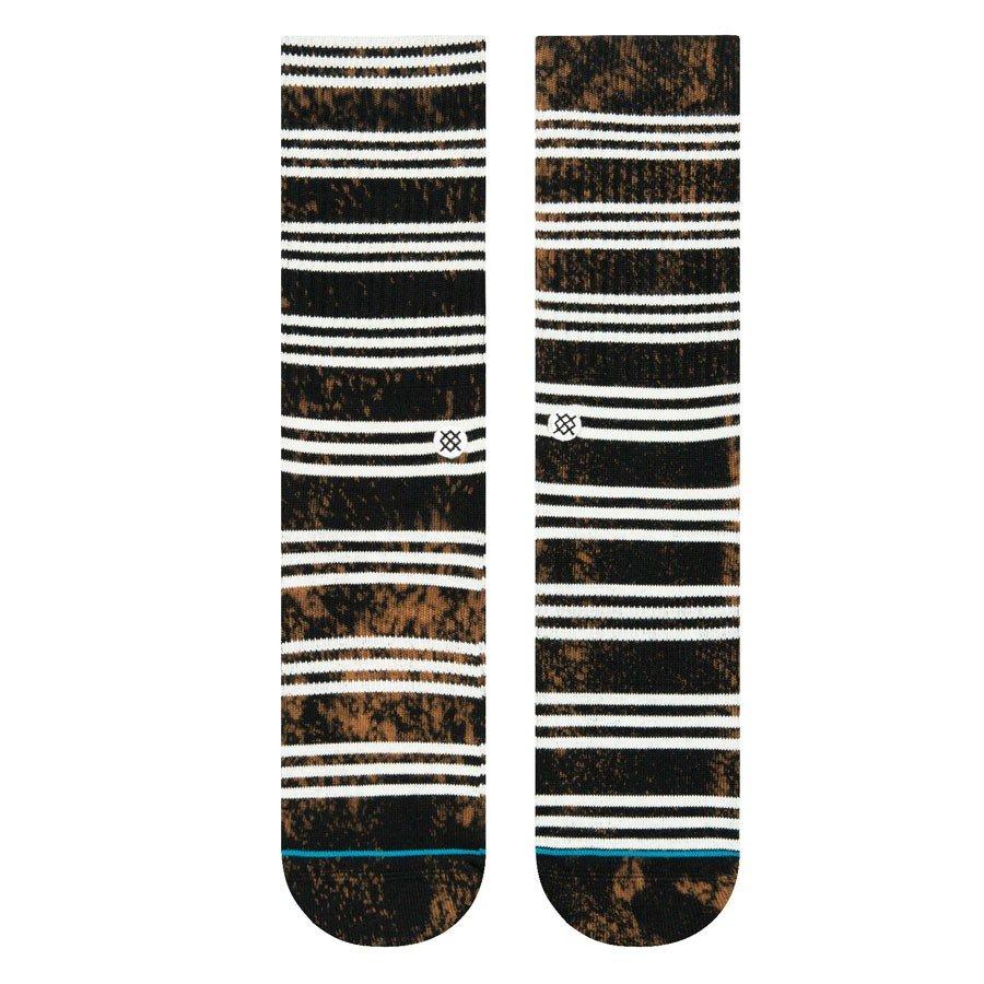 STANCE SOCKS MENS 靴下 スタンス ハイソックス メンズ スケート KURT SKULL BLACK ブラック 黒
