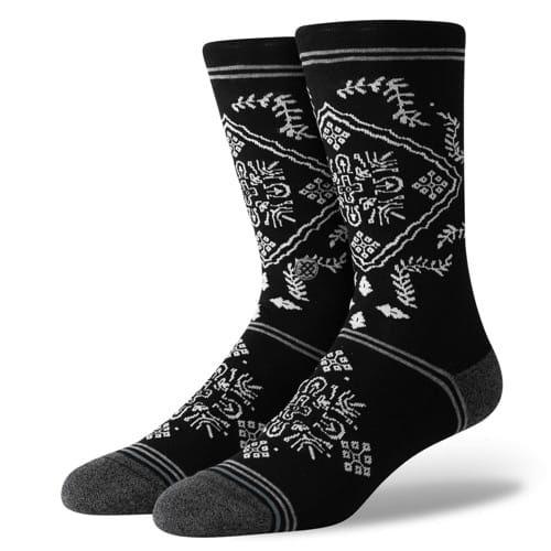 STANCE SOCKS MENS 靴下 スタンス ハイソックス メンズ スケート BANDERO ブラック 黒