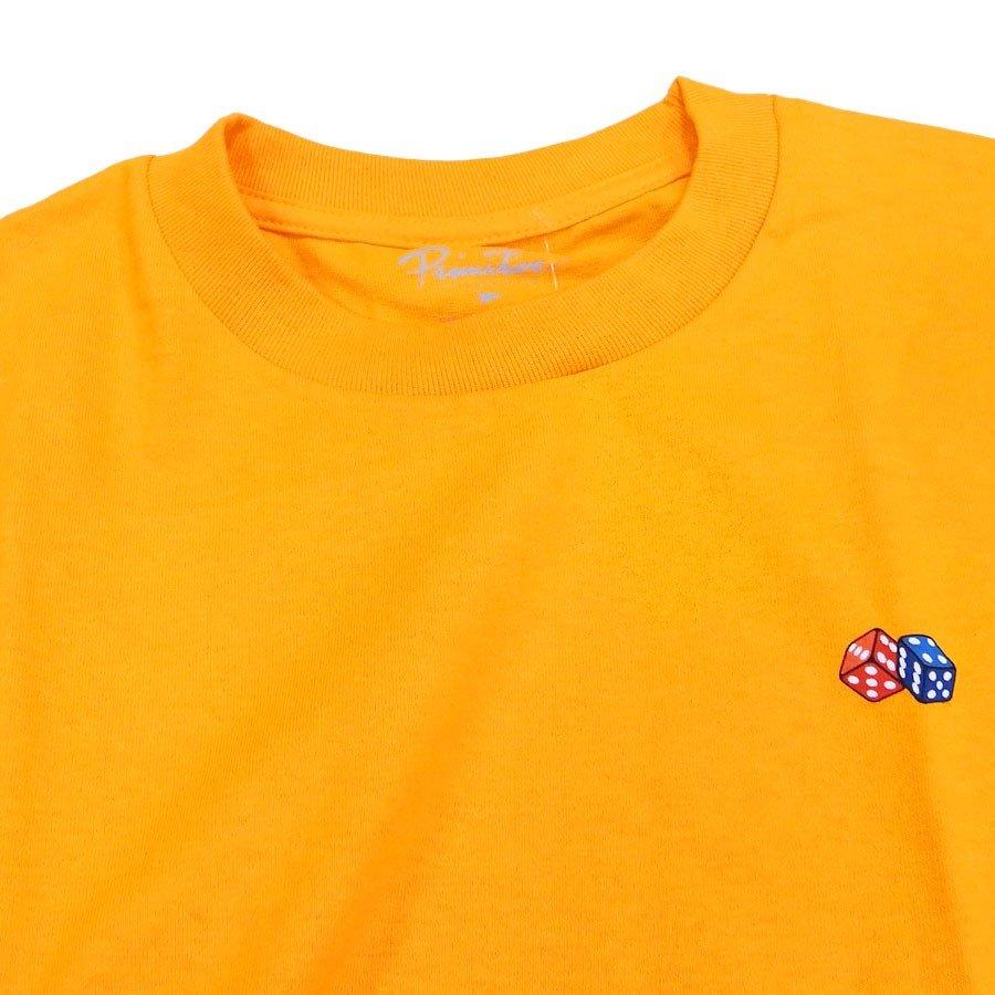 PRIMITIVE プリミティブ IVY LEAGUE TEE 3色 半袖Tシャツ カットソー 黒 ブラック ホワイト 白 イエロー