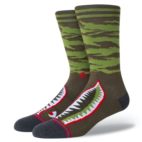 STANCE SOCKS スタンス ハイソックス 靴下 WARBIRD オリーブ グリーン 緑