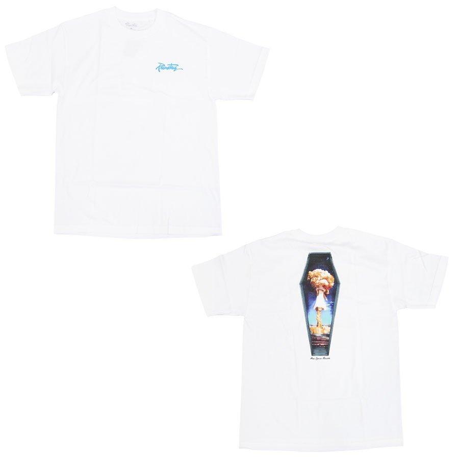 PRIMITIVE プリミティブ DOOMED TEE 3色 半袖Tシャツ カットソー 黒 ブラック ホワイト 白 バーガンディ