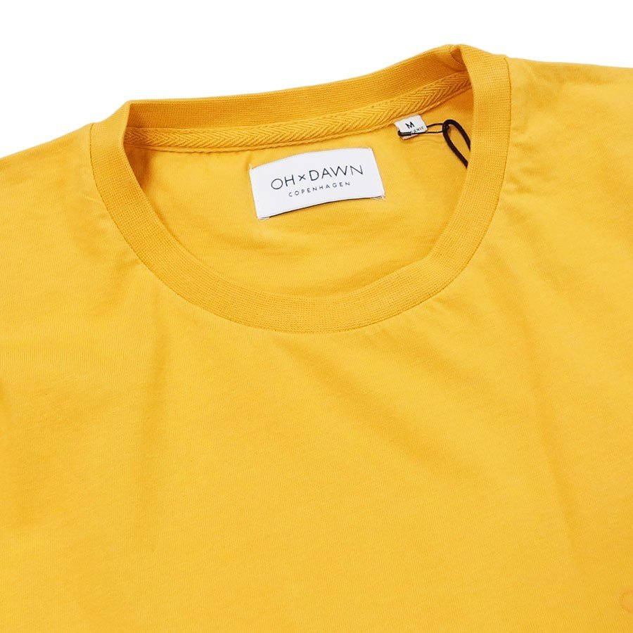 OH×DAWN オードーン Tシャツ カットソー HUMBLE TEE BURNED YELLOW イエロー