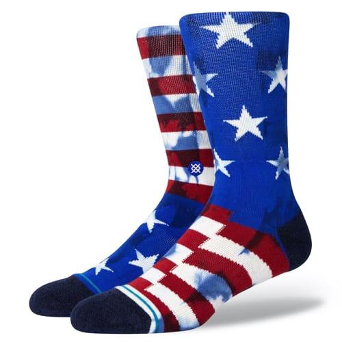 STANCE SOCKS スタンス ハイソックス 靴下 THE BANNER 星条旗 アメリカ