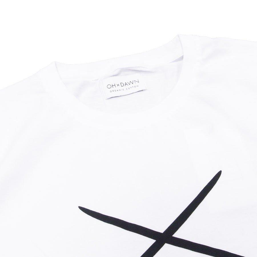 OH×DAWN オードーン Tシャツ カットソー CLUB TEE WHITE ホワイト