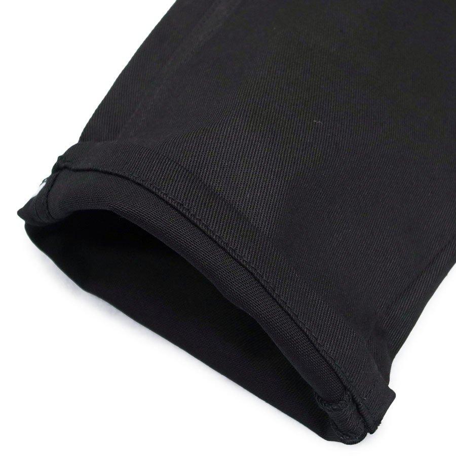 AFENDS アフェンズ サーフ メンズ デニムパンツ ジーパン Gパン リジット 生デニム 黒 ブラック IRE SKATE STRAIGHT DENIM