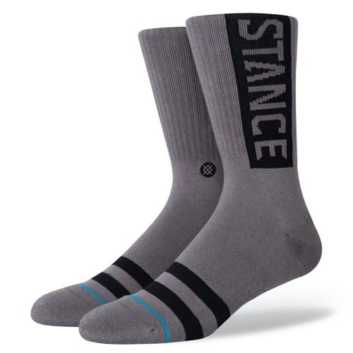STANCE SOCKS MENS 靴下 スタンスソックス メンズ スケート OG SOCKS GRAPHITE グレー