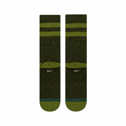 STANCE SOCKS MENS 靴下 スタンス ハイソックス メンズ スケート JOVEN SOCKS GREEN BLACK 緑 グリーン