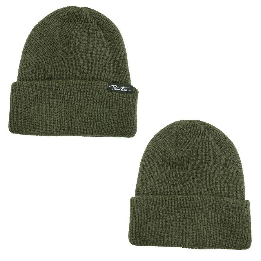 PRIMITIVE プリミティブ JAANIE FOLDER BEANIE 3色 キャップ ニット 帽子 CAP ビーニー