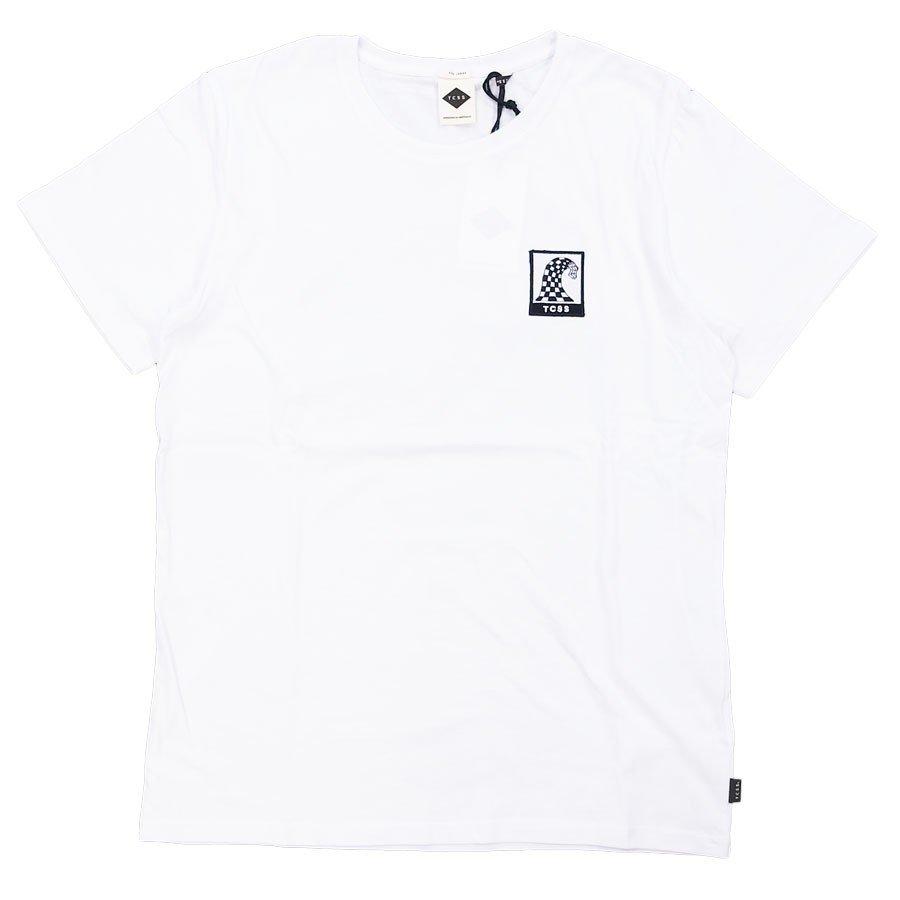 TCSS NEUE WAVE S/S TEE メンズ レディーズ ユニセックス Tシャツ カットソー 白 ホワイト ブラック 黒