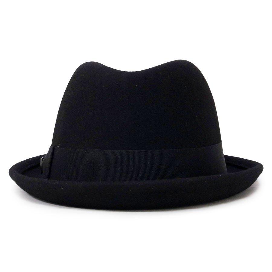 BRIXTON ブリクストン ハット 中折れ 帽子 GAIN FEDORA HAT BLACK 黒 ブラック