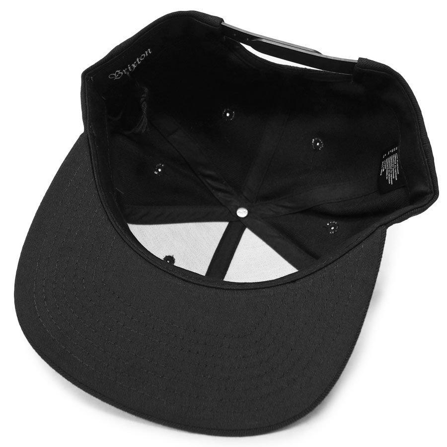 BRIXTON ブリクストン キャップ 帽子 OATH III SNAPBACK ブラック 黒 グレー バーガンディ ブルー グリーン