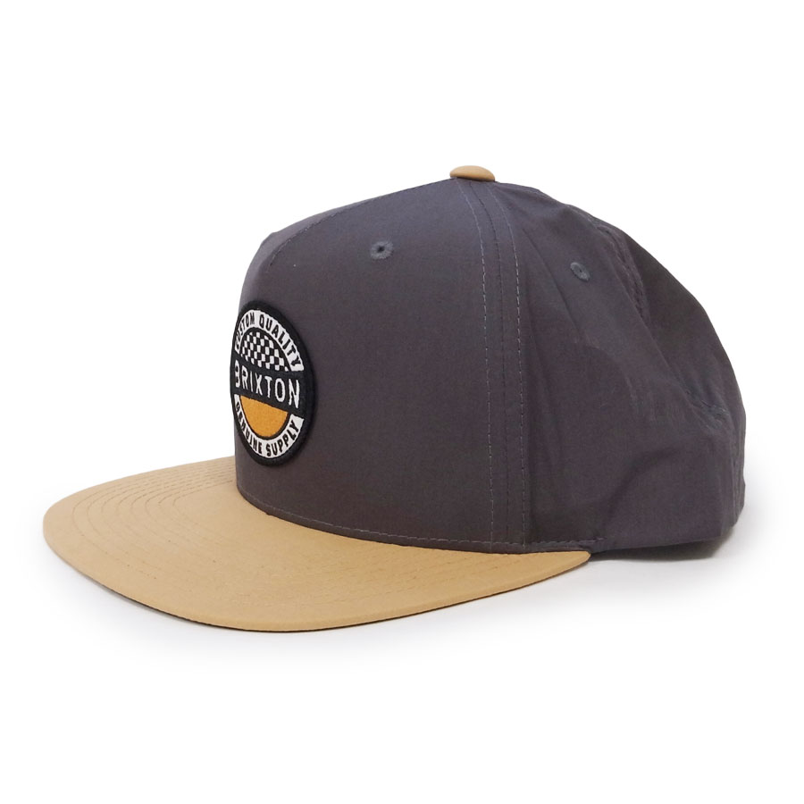 BRIXTON ブリクストン キャップ 帽子 TERMINAL CROSSOVER MP SNAPBACK 2色 グレー ホワイト