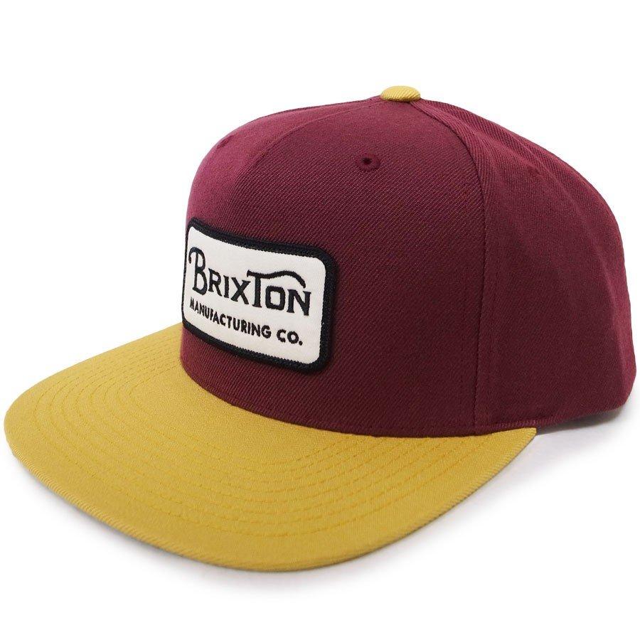 BRIXTON ブリクストン キャップ 帽子 GRADE SNAPBACK 2色