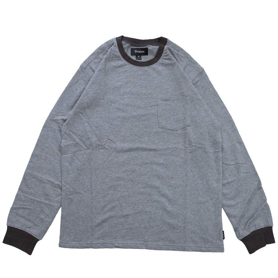BRIXTON ブリクストン ポケット Tシャツ カットソー MARTY KNIT TEE 2色