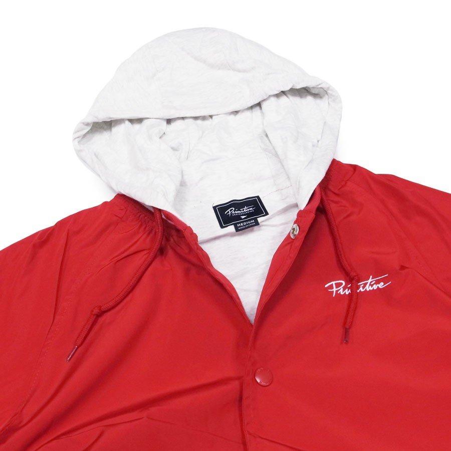 PRIMITIVE プリミティブ ジャケット ブルゾン アウター LIGHTTWEIGHT TWO-FER VARSITY JACKET レッド 赤