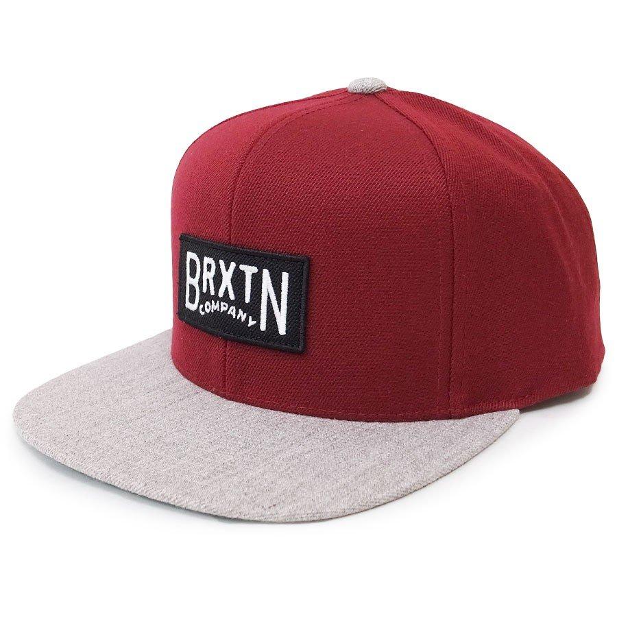 BRIXTON ブリクストン キャップ 帽子 LANGLEY SNAPBACK 3色 ブラック 黒 レッド 赤 ネイビー 青