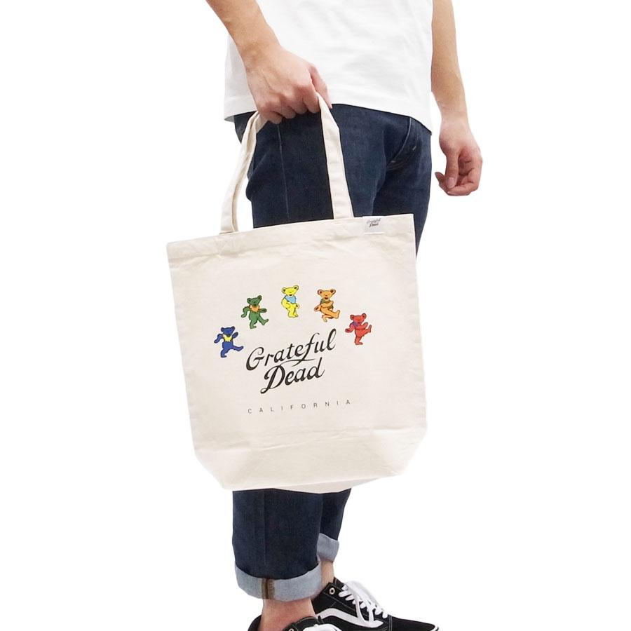 グレイトフル・デッド GRATEFULDEAD メンズ レディース キッズ ダンシング・ベアーズ TOTE BAG 鞄 トートバッグ