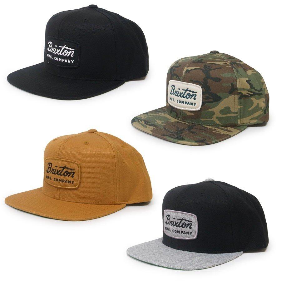 BRIXTON ブリクストン キャップ 帽子 JOLT SNAPBACK 4色 ブラック 黒 カーキ 迷彩