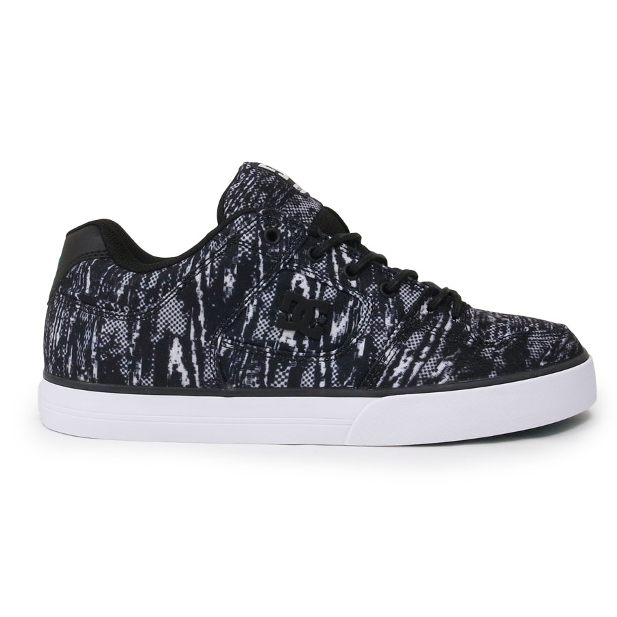 DC SHOE シューズ スニーカー スケート 靴 PURE TX SE BLACK 黒 ブラック