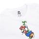 LEVI'S リーバイス MARIO マリオ メンズ レディース ユニセックス Tシャツ カットソー MARIO BW VINE WHITE TEE ホワイト 白