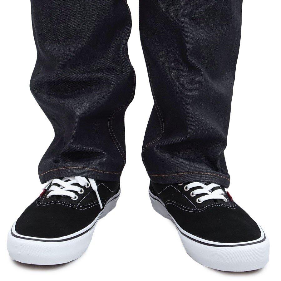VANS スニーカー バンズ ヴァンズ シューズ エラ ERA PRO BLACK WHITE GUM ブラック 黒